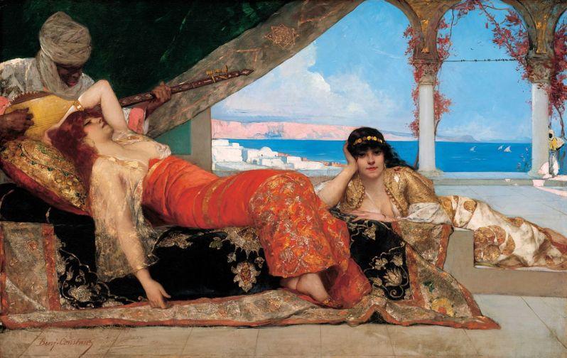Benjamin-Constant, Benjamin-Constant, La favorite de l'émir, 1879, 1879