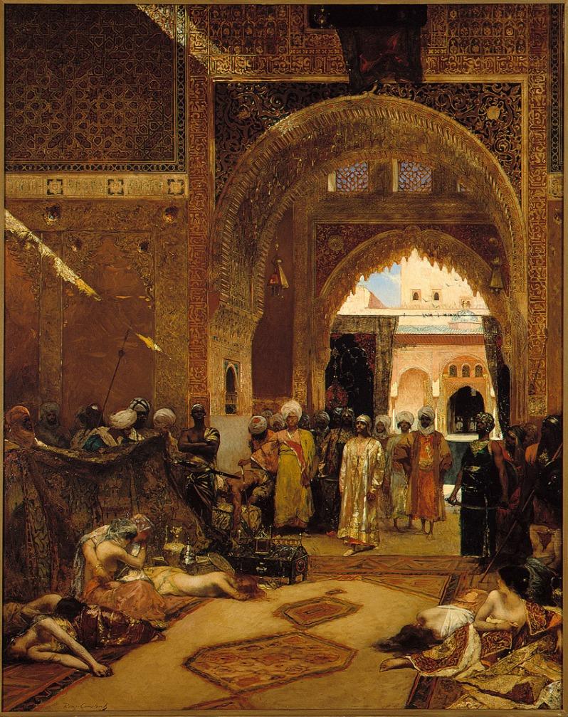 Benjamin-Constant, Le lendemain d'une victoire à l'Alhambra, 1882