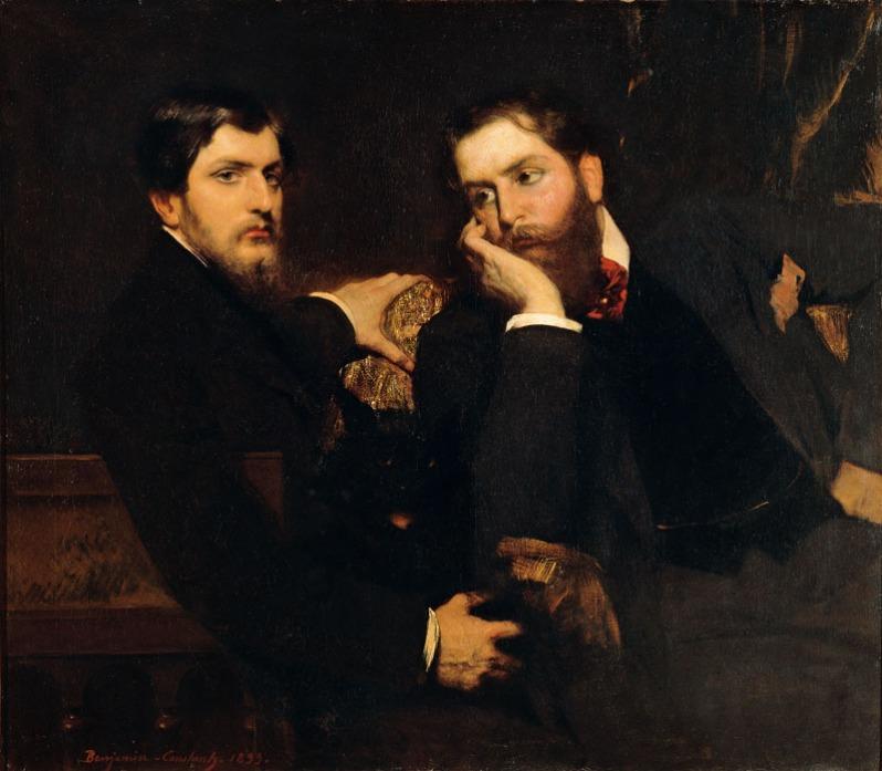 Benjamin-Constant, Portrait de ses deux fils, 1899