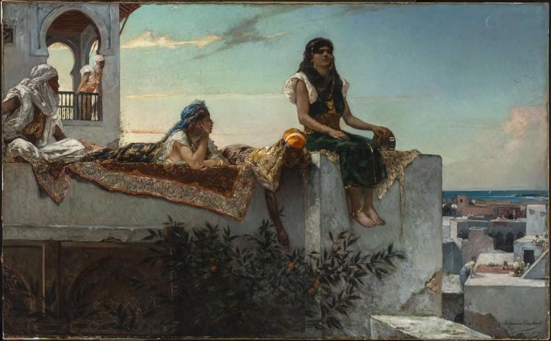Benjamin-Constant, Terrasse au Maroc, c.1880