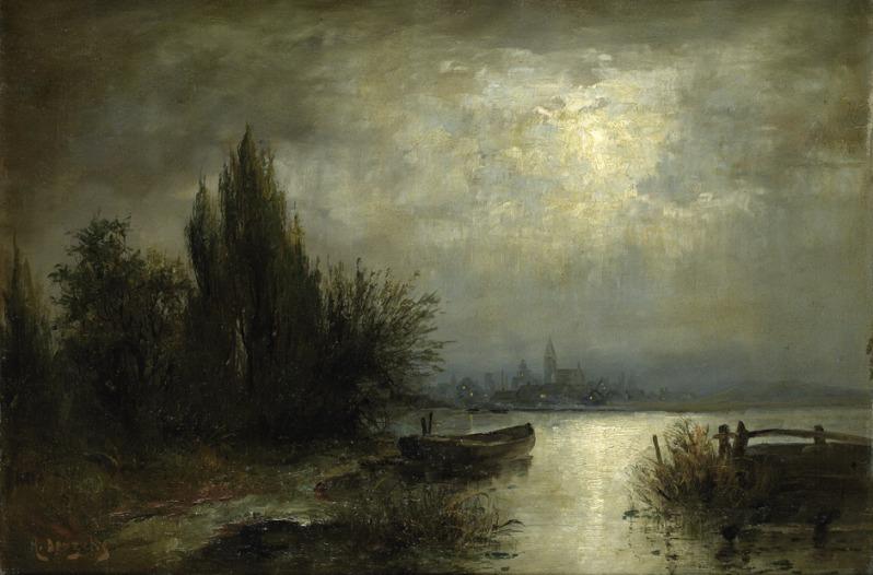 Louis Douzette, Mondnacht