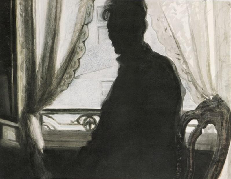 Léon Spilliaert, Autoportrait, 1907