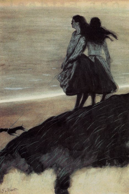 Leon Spilliaert, Girls on a Dune