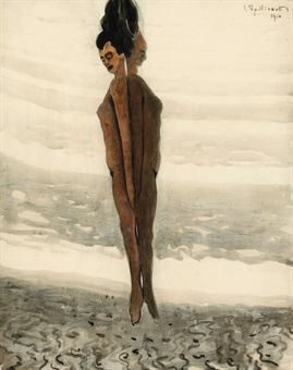 Leon Spilliaert, L'élévation, 1910