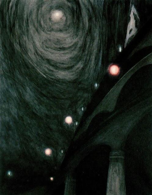 Leon Spilliaert, Moonlight and Light, 1909