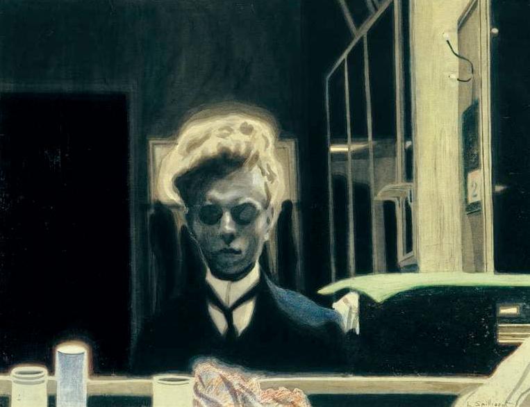 Leon Spilliaert, Self-Portrait, 1908