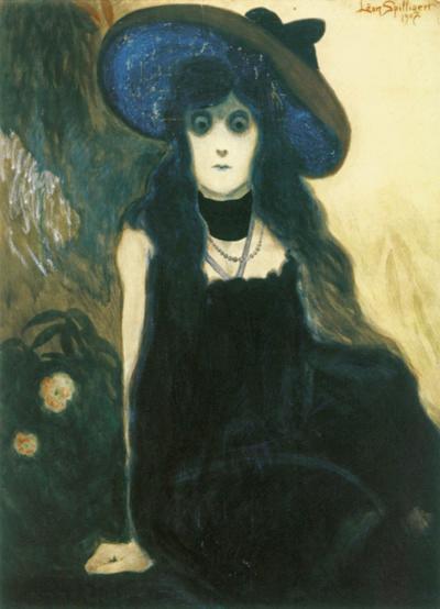 Leon Spilliaert, The Absinthe Drinker, 1907