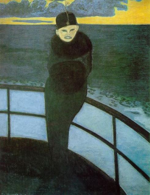 Leon Spilliaert, The Crossing, 1913