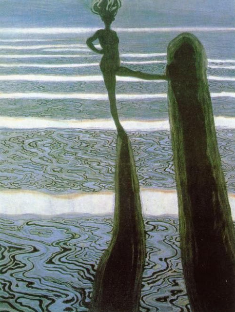 Leon Spilliaert, The Posts, 1910