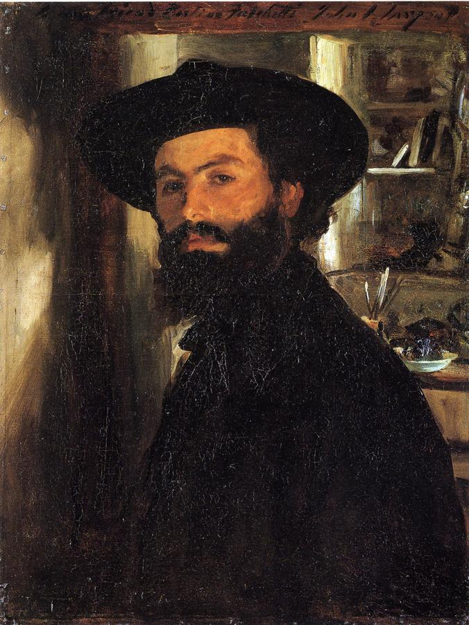 John Singer Sargent, Alberto Falchetti, c.1905