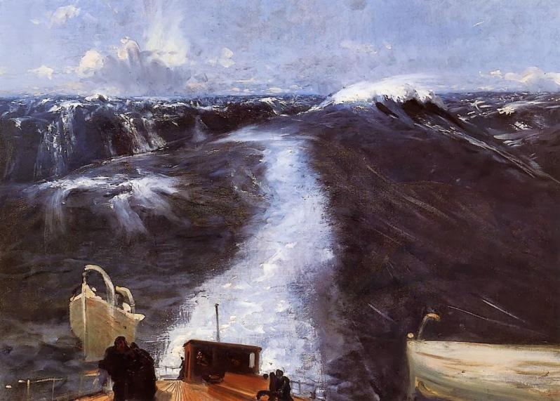 John Singer Sargent, Atlantic Storm, 1876
