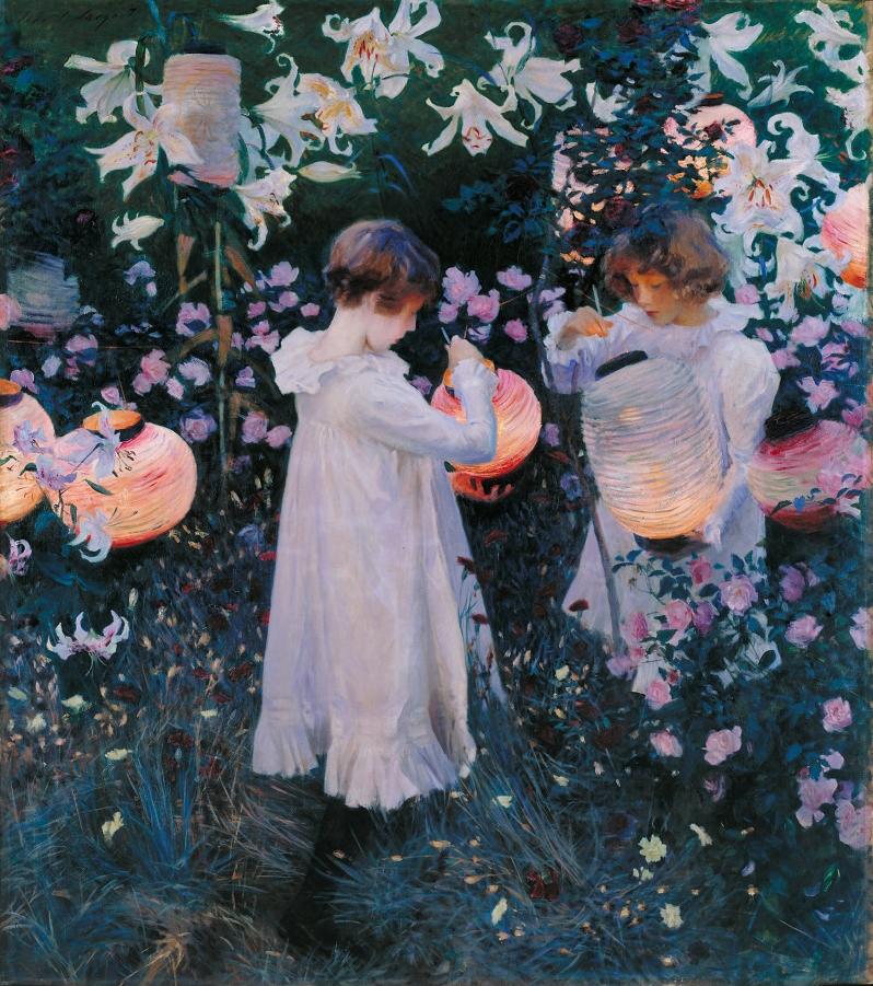 John Singer Sargent, Carnation, Lily, Lily, Rose, 1886