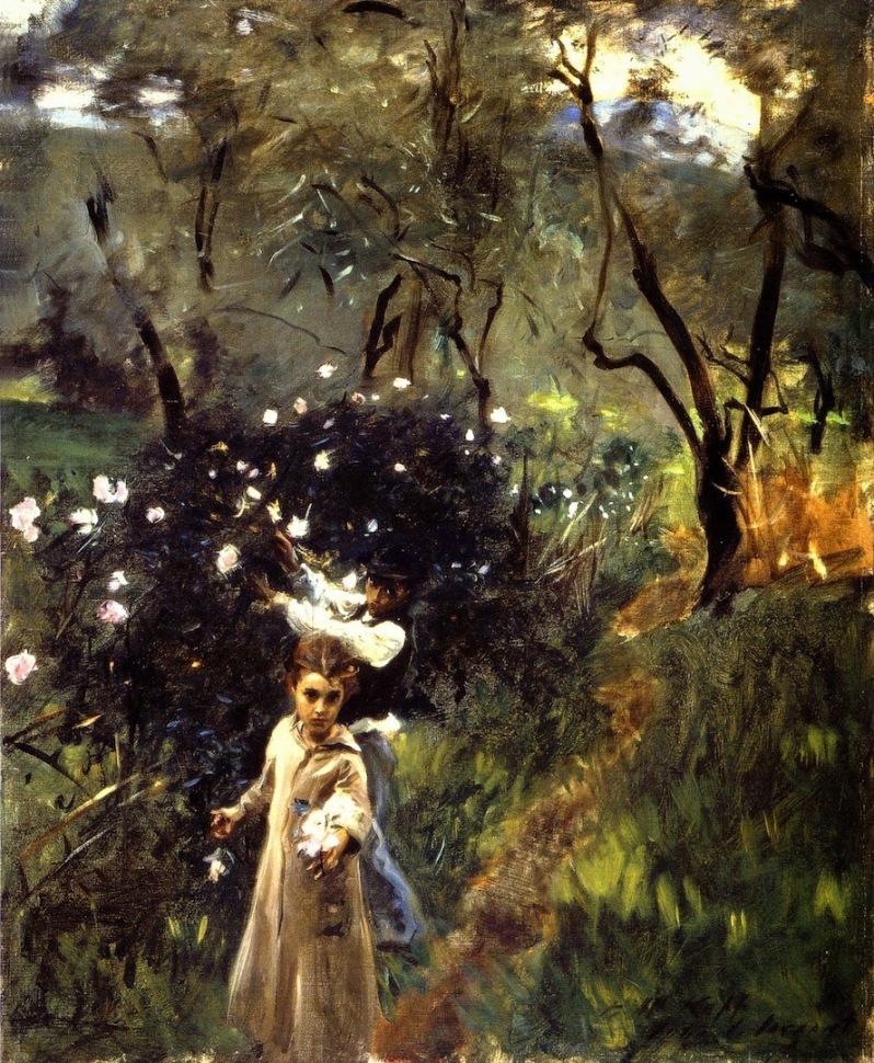 John Singer Sargent, Children Picking Flowers, c.1885