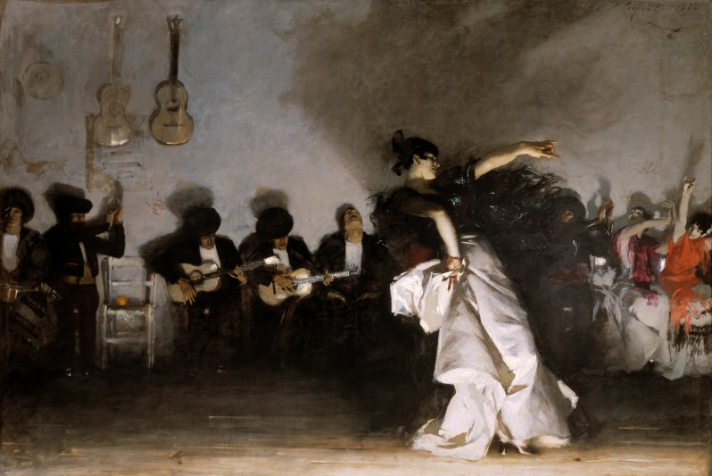 John Singer Sargent, El jaleo, 1882