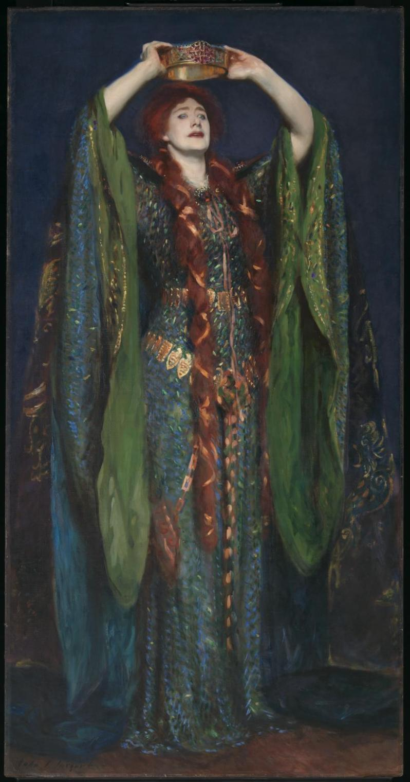 John Singer Sargent, Ellen Terry as Lady Macbeth, 1889