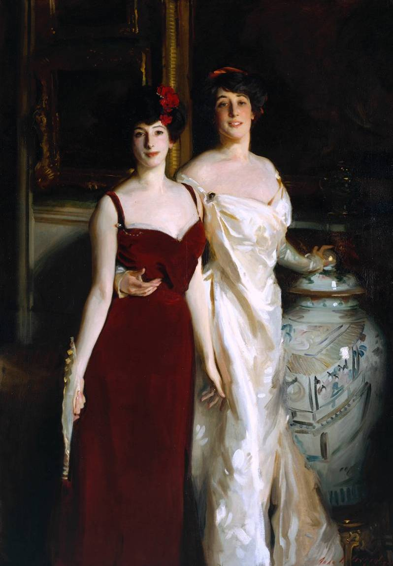 John Singer Sargent, Ena and Betty, Daughters of Asher and Mrs. Wertheimer, 1901