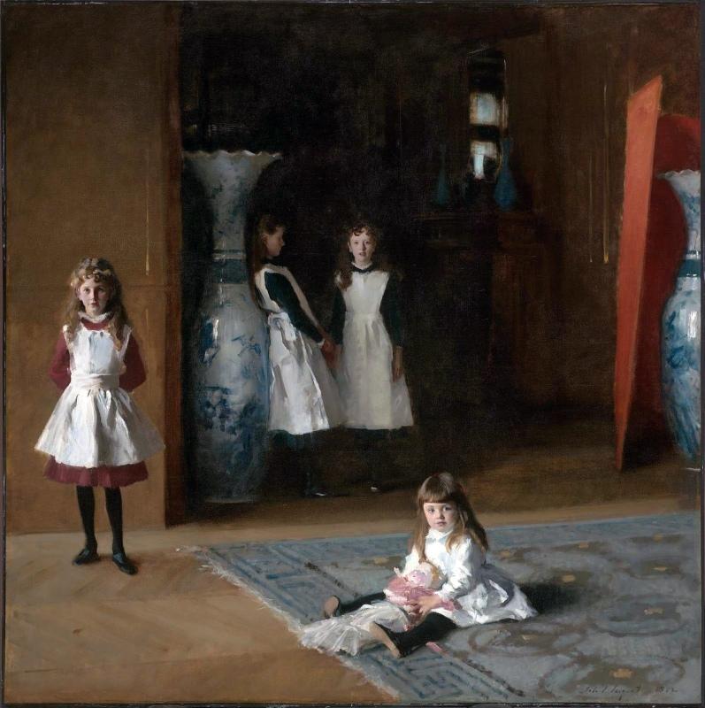 John Singer Sargent, Filles d'Edward Darley Boit, 1882