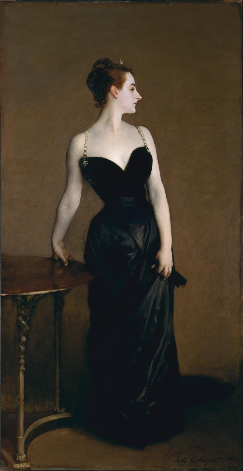 John Singer Sargent, Madame X, 1884