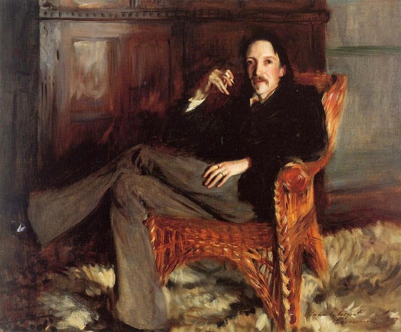 John Singer Sargent, Portrait of Robert Louis Stevenson, 1887