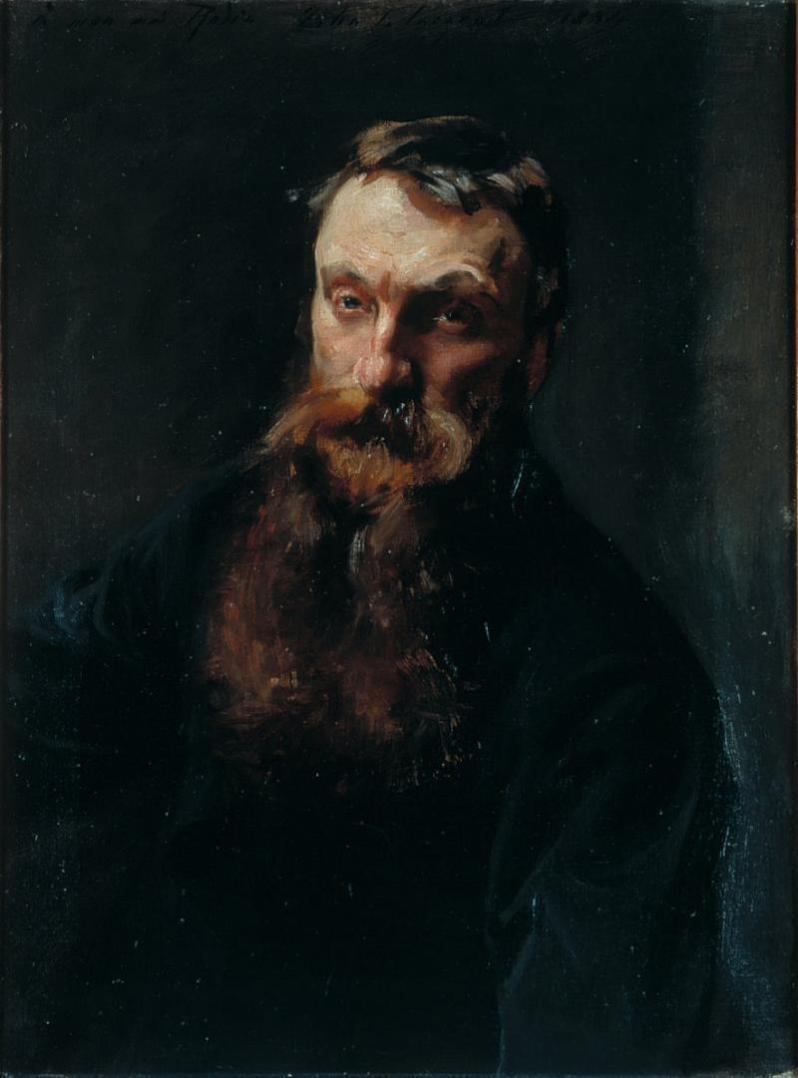 John Singer Sargent, Portrait of Rodin, 1884