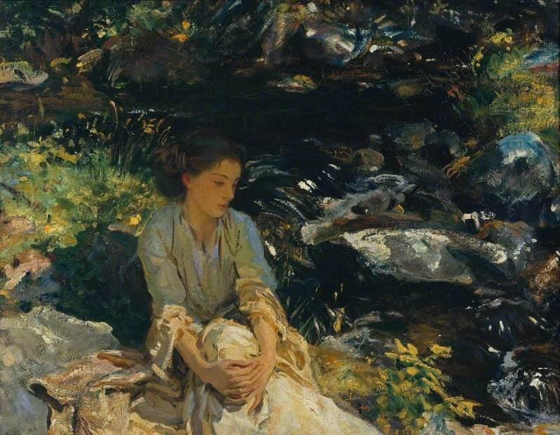 John Singer Sargent, The Black Brook, c.1908