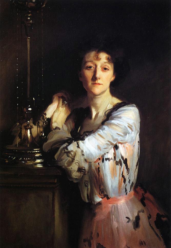 John Singer Sargent, The Honourable Mrs. Charles Russell, 1900