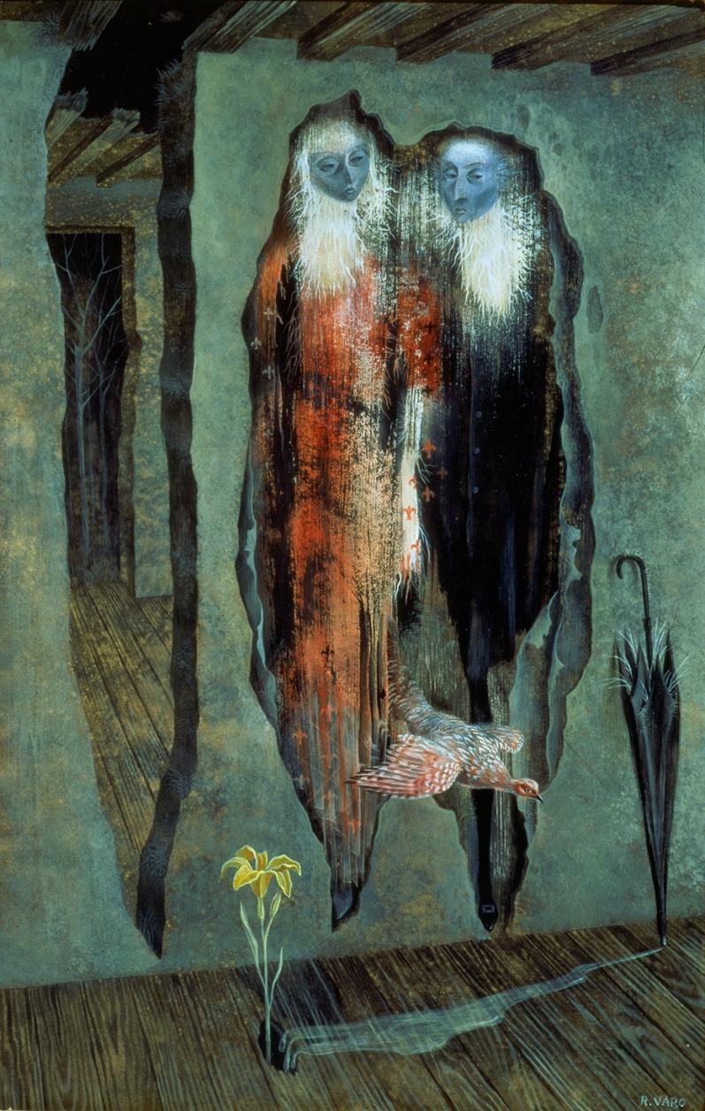 Remedios Varo, Les murés, 1958