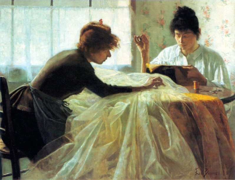 Eva Bonnier, Dressmakers, 1887