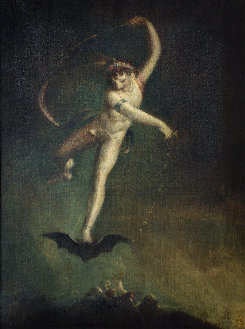 Johann Heinrich Füssli, Ariel, c.1810