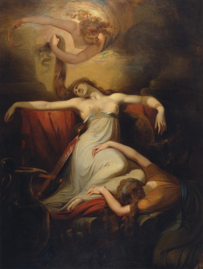 Johann Heinrich Füssli, Dido, 1781
