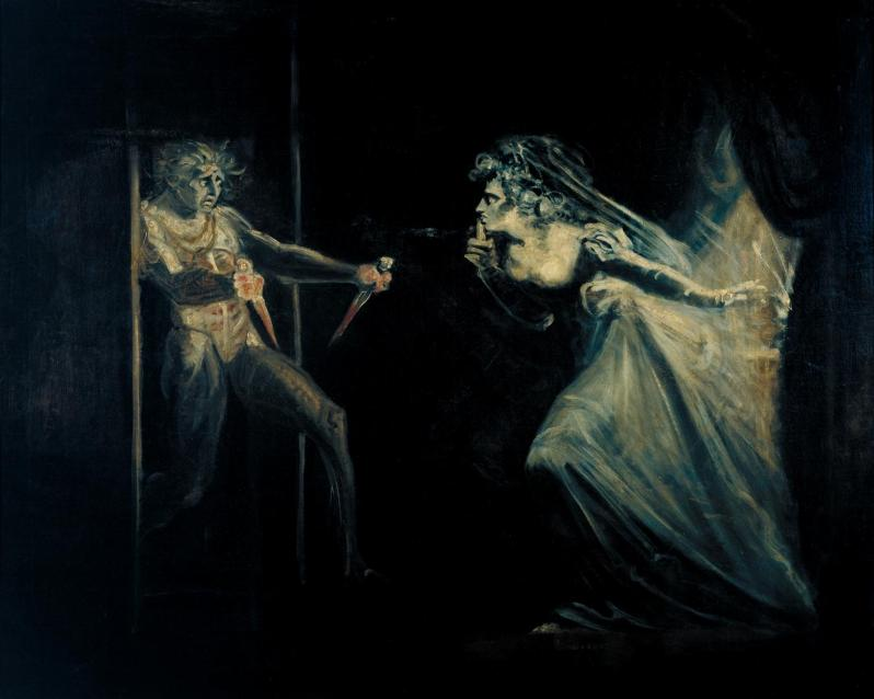 Johann Heinrich Füssli, Lady Macbeth Seizing the Daggers, c.1812