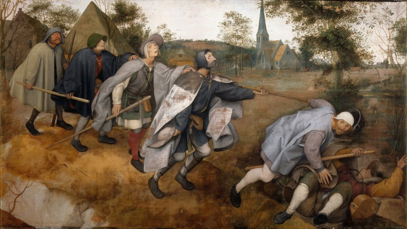 Pieter Brueghel el Viejo, The Parable of the Blind, 1568