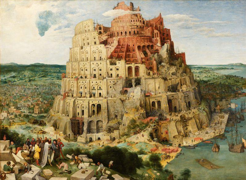 Pieter Brueghel el Viejo, The Tower of Babel, 1563