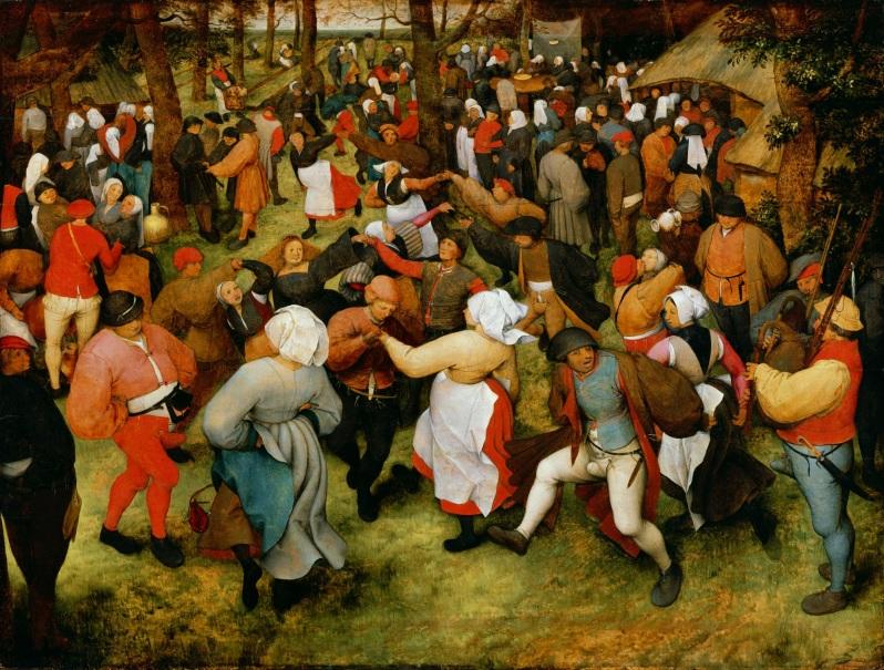 Pieter Brueghel el Viejo, The Wedding Dance, c.1566