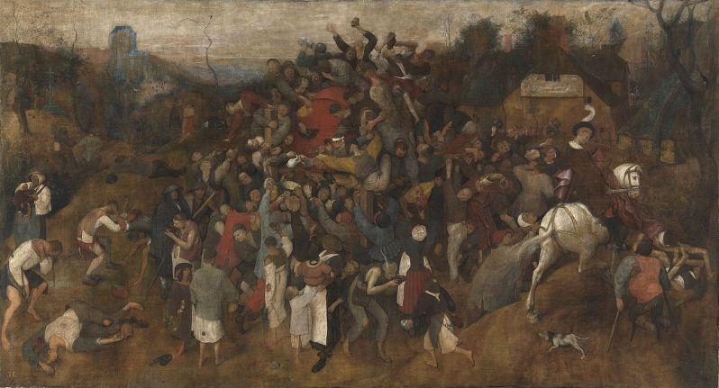 Pieter Brueghel el Viejo, The Wine Of Saint Martins Day, c.1568