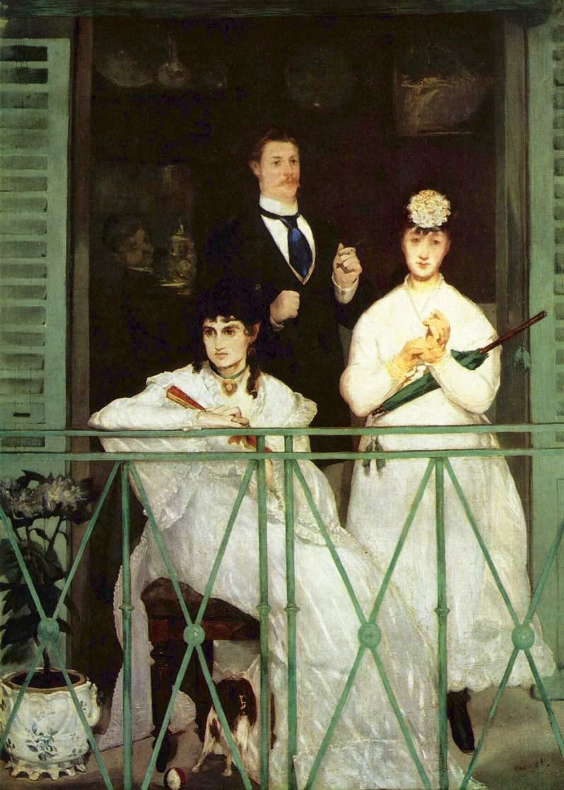 Manet, Le Balcon, 1869