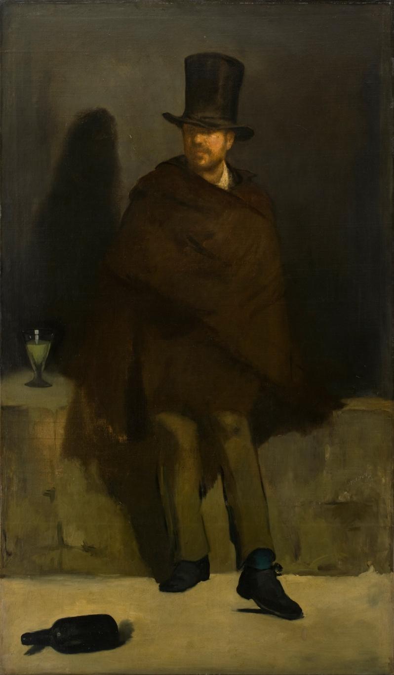 Manet, Le buveur d'absinthe, 1859