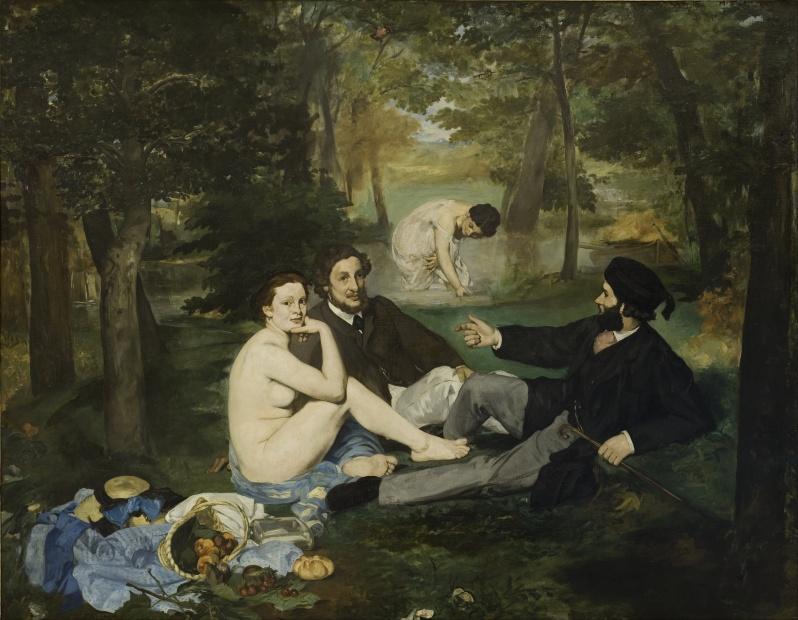 Manet, Le Déjeuner sur l'herbe, 1859