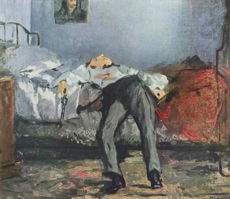 Manet, Le Suicidé, 1881