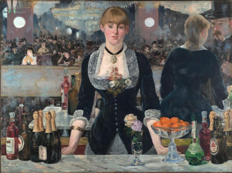 Manet, Un Bar aux Folies-Bergère, 1882