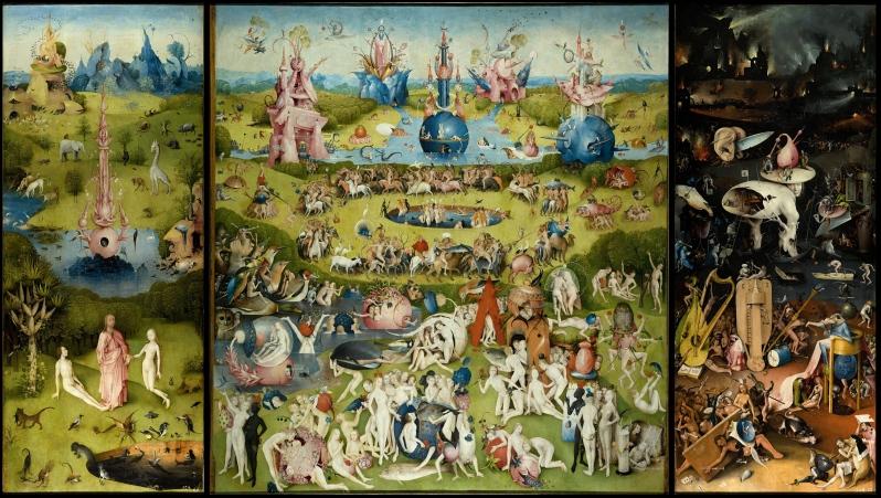El Bosco, El Jardín de las Delicias, c.1490