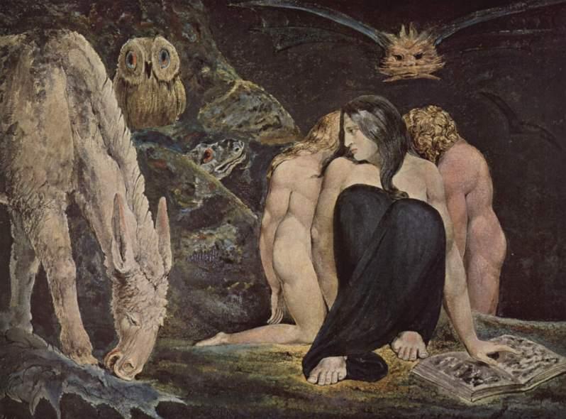 William Blake, Hecate, 1795