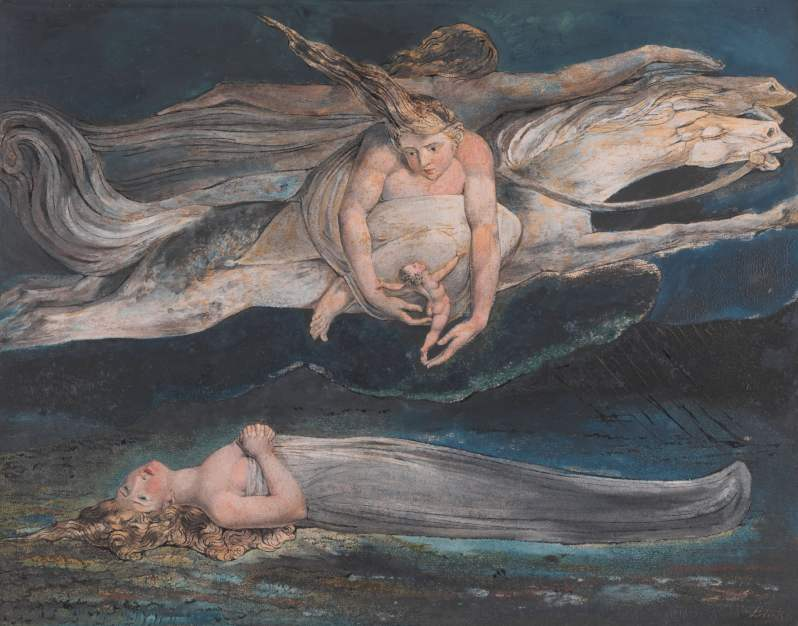 William Blake, Pity, c.1795