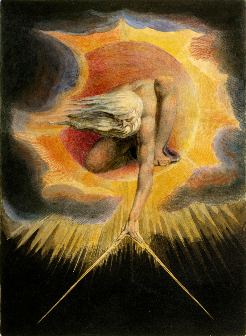William Blake, The Ancient of Days (Copy D), 1794