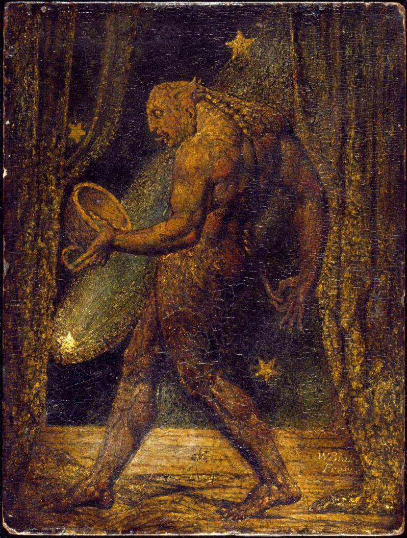 William Blake, The Ghost of a Flea, 1819-1820