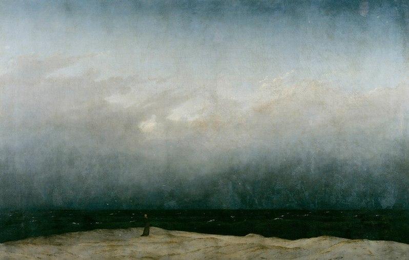 Caspar David Friedrich, Der Mönch am Meer (The Monk by the Sea), 1810