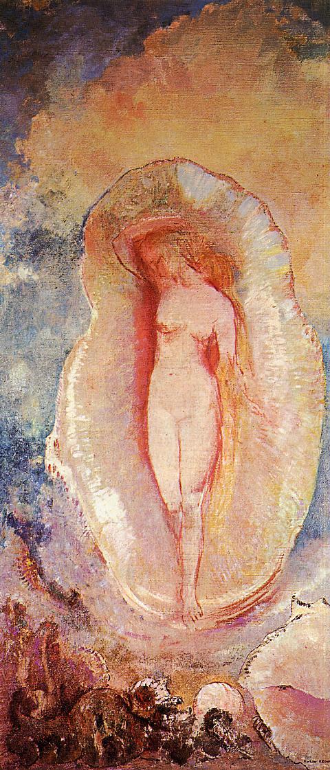 odilon-redon-la-naissance-de-venus-1912