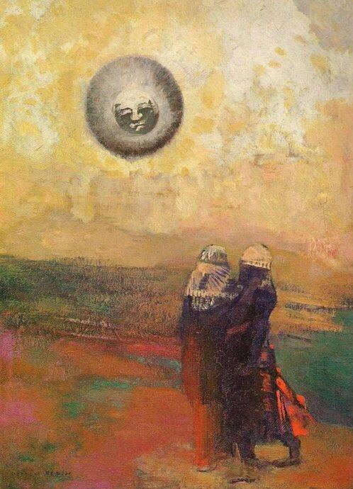 odilon-redon-le-soleil-noir-c.1900