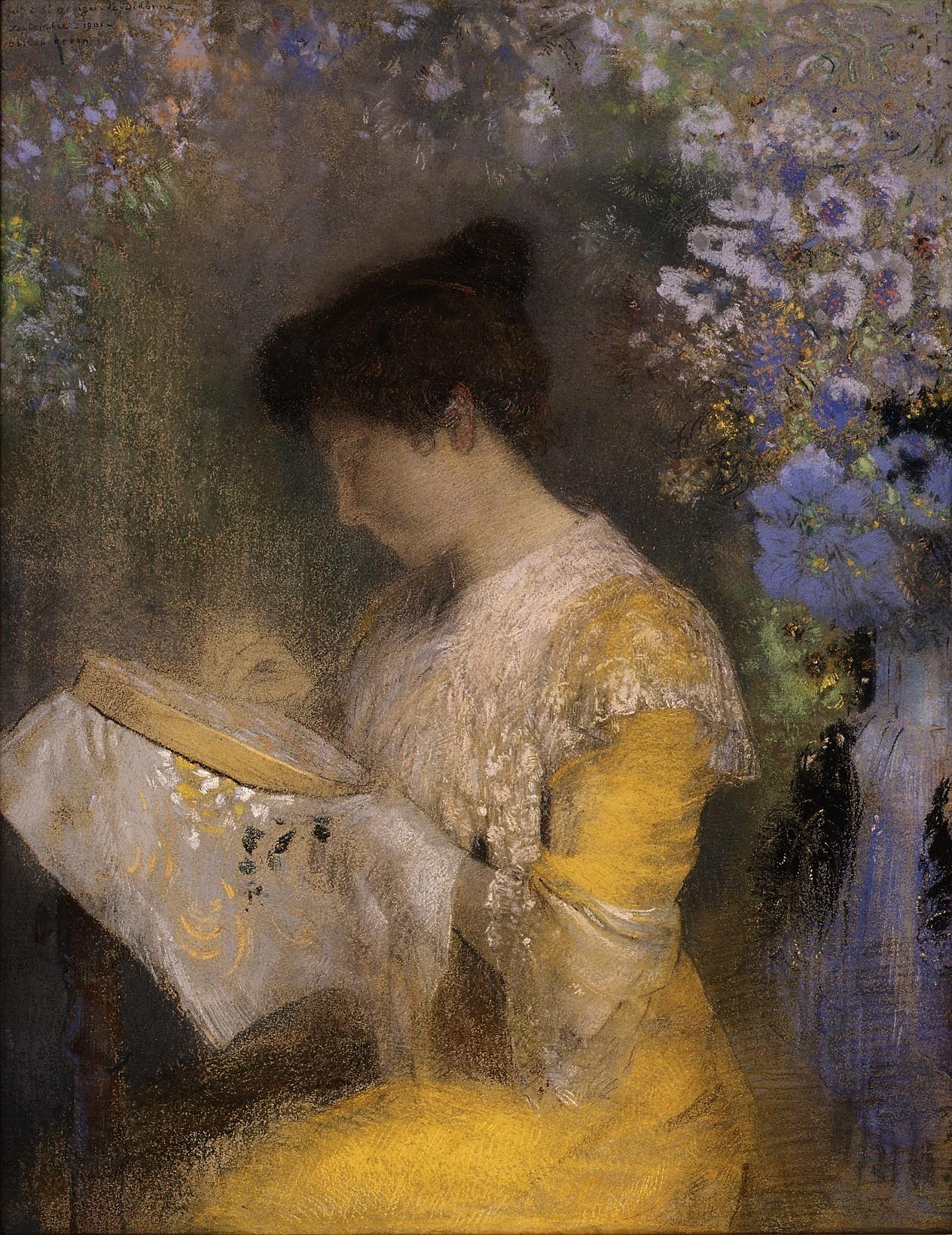 odilon-redon-madame-arthur-fontaine-marie-escudier-1901